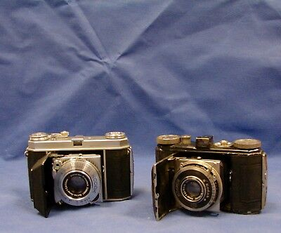 Lot of 2 Kodak Retina & 1A Cameras For Parts or Collection