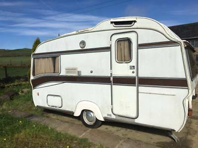 Classic Safari Vintage 1979 Caravan 13-4 3 Birth (Spares Only) Rare