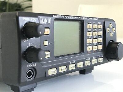 Aor Ar8600 Mark 2 Wideband Scanning Communications Receiver