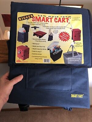 """dbest products Bigger Smart Cart 14""""x20""""x12-4/5"""" Blue"""