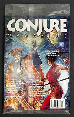 Conjure Magazine Ultimate Card Game Price Guide #7 October 1995 Sealed Polybag