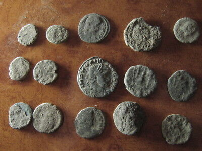 Ancient roman coins lot 71