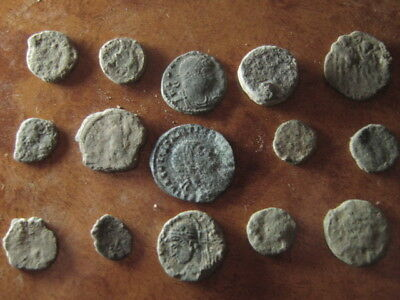 Ancient roman coins lot 72