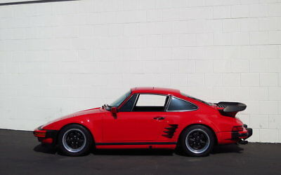 1988 Porsche 930 911 Turbo Slantnose - Original Condition! Porsche 911 Turbo 'S' Flachbau     Red/Black      **37,300 Miles**