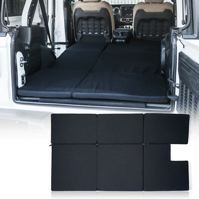 2018 Jeep Wrangler JL Black Premium Portable Mattress Sleeping Nite Pad Cushion