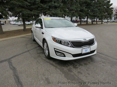 Kia Optima 4dr Sedan EX 4dr Sedan EX Low Miles Automatic Gasoline 2.4L 4 Cyl WHITE