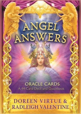 Valentine,doree-Angel Answers Oracle Card (Cards)  Book New