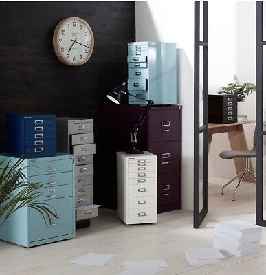 Bisley 3 Drawer Filing Cabinet , Cassis £260 John Lewis Exclusive