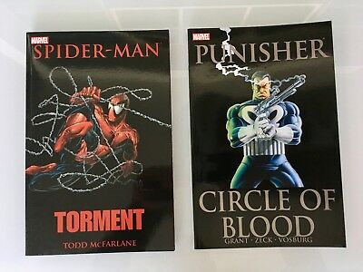 Spider-man Torment & Punisher Circle of Blood TPB Todd McFarlane Mike Zeck