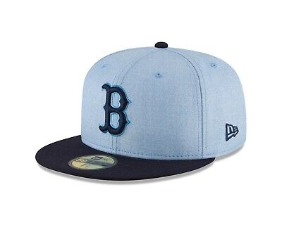 dea7b540e60a2 Boston Red Sox New Era Light Blue 2018 Father s Day On Field 59FIFTY Fitted  Hat