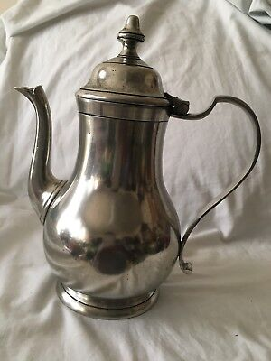 Cosi Tabellini Italian Pewter Coffee Pot