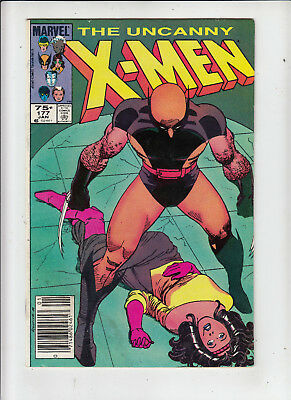 The Uncanny X-Men #177 75 Cent Canadian Newsstand Price Variant  GD