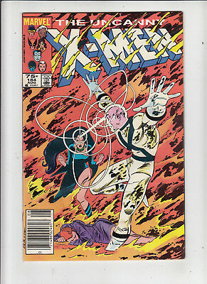 The Uncanny X-Men #184 75 Cent Canadian Newsstand Price Variant GD/VG