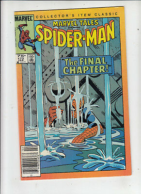 Marvel Tales #172 Spider-Man 75 Cent Canadian Newsstand Price Variant fn/vf