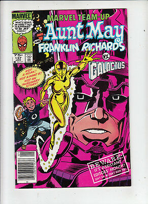 Marvel Team-up #137  75 Cent Canadian Newsstand Price Variant VF/NM