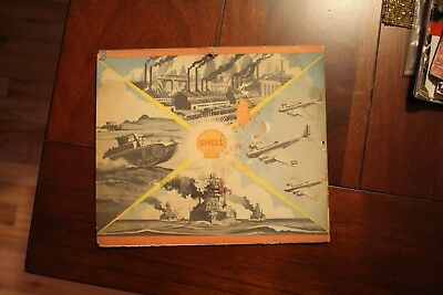 1942 Shell Gasoline WWII military themed calender