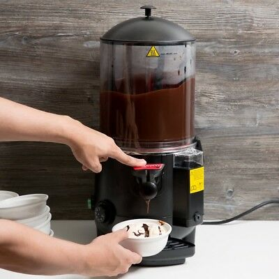 Commercial 2.6 Gal Choco Hot Chocolate Machine Beverage Dispenser Cacao Maker