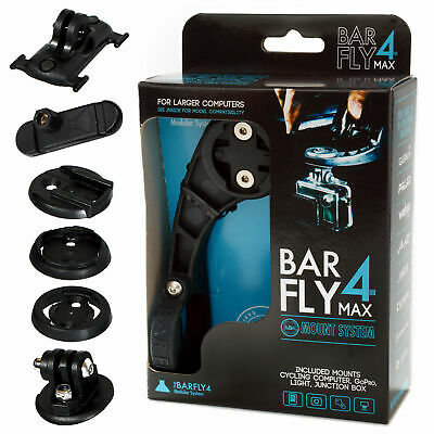 Tate Labs Bar Fly 4 Road Max Modular Mount System for GPS / Computer / Lights