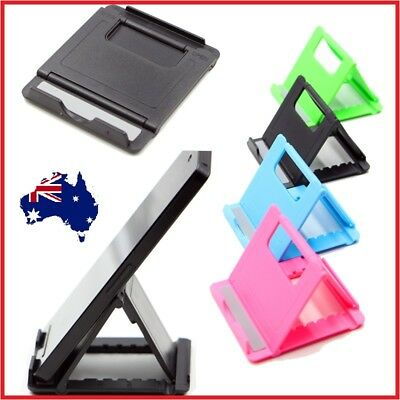 OZ Desk Stand Cell Phone Mount Holder For Tablet Samsung iPhone 5 6 7 8 X iPad