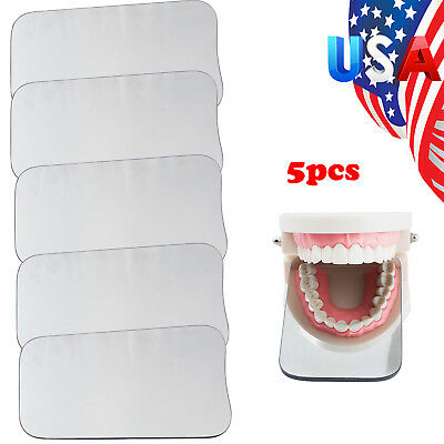 US 5x Dental Intraoral Orthodontic Photographic 2-sided Glass Mirror For Dentist