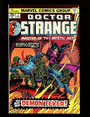 Doctor Strange #7 VF Kane Romita Colan Dormammu Orini Revealed as Clea's Father