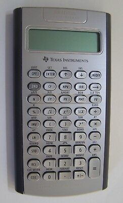 Texas Instruments BA II Plus Professional Financial Calculator.