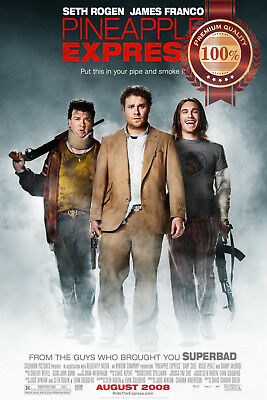 New Pineapple Express Seth Rogan Original Film Movie Cinema Print Premium Poster