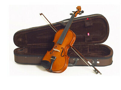 Violin Student 1/16 Stentor Standard Set With Brown Lightweight Case And Bow