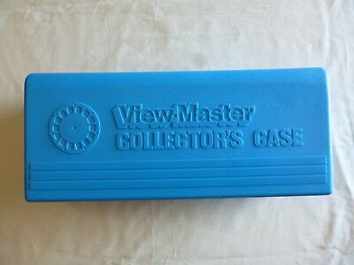 View-Master Collectors Cary Case (Blue) Made in the U.S.A.