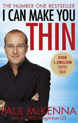 I Can Make You Thin by Paul McKenna 9780857503268 (Paperback, 2015)