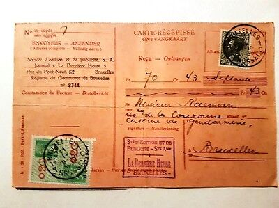 Carte ancienne Timbree A