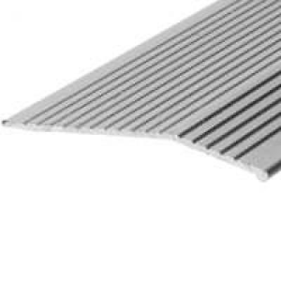 Carpet Bar 2X36 Fluted Silver