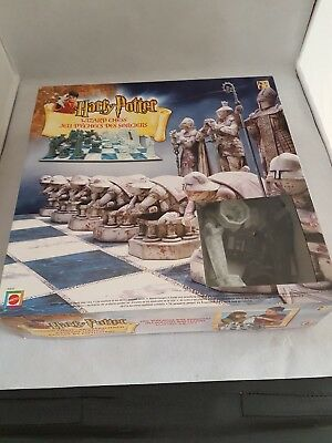 Harry Potter Wizard Chess Game - Mattel 2002 - complete including instructions