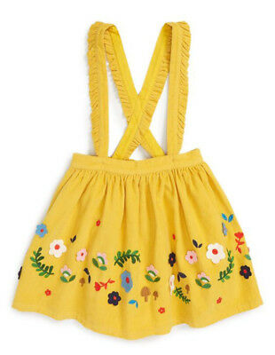 Toddler Infant Kids Baby Girl Suspender Skirt Overalls Dress Outfit Clothes 0-5T