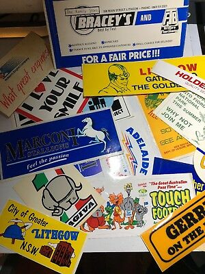 Mixed Lot Of Great Stickers From 1980's and 90's