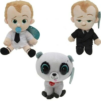Hot OFFICIAL DREAMWORKS THE BOSS BABY PLUSH SOFT TOYS Lovely Xmas Gifts