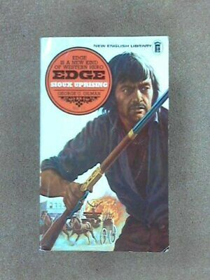 Edge 11 Sioux Uprising by George C Gilman Paperback Book The Cheap Fast Free