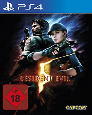 Playstation 4-Resident Evil 5 Ps-4 Hd  GAME NEW