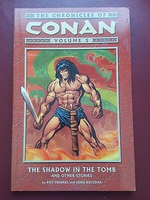 The Chronicles of Conan Volume 5 - Shadow In The Tomb, Comic Graphic Novel Book