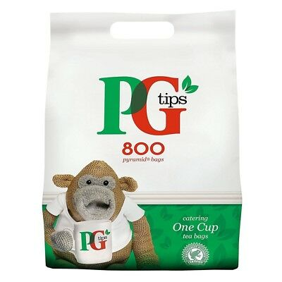 PG Tips Catering Pack 800 One Cup Pyramid Tea Bags
