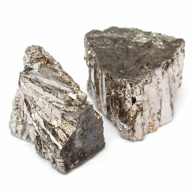 100g Bismuth Metal Ingot Chunk 99.99% Pure Crystals Geodes For Bismuth Crystals