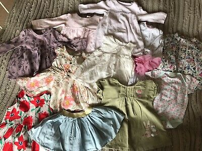 Next, Mamas And papas, M&S baby Girls 3-6 Month dress and skirt clothes Bundle