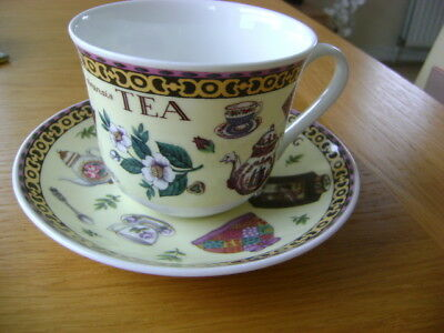Roy Kirkham Large Cup And Saucer Tea    Lapsang Souchong  The Flying Cloud