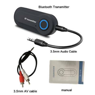 Wireless Bluetooth Transmitter Stereo Audio Music Adapter for TV Phone PC Dongle