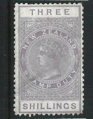 68962 - NEW ZEALAND - STAMPS: Stanley Gibbons FISCAL STAMPS Revenue# F 11 Hinged