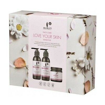 *Brand New* Sukin Love Your Skin Sensitive Trio Pack