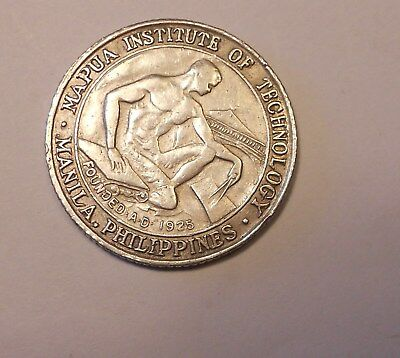 philipines silver medal 1950  - mapua institute 25º aniversary