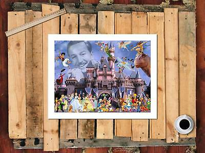 A2927-Disney cartoon poster Home Decor HD Canvas Print Picture Wall Art Painting
