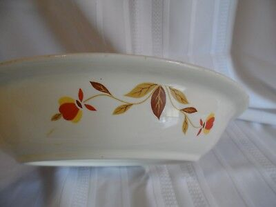 Hall China-Jewel Tea-Autumn Leaf - Pie Plate/Dish 9 1/2""