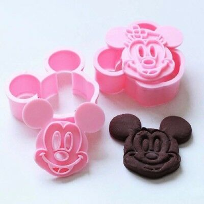 Mickey Mouse Minnie mouse Cookie Cutter